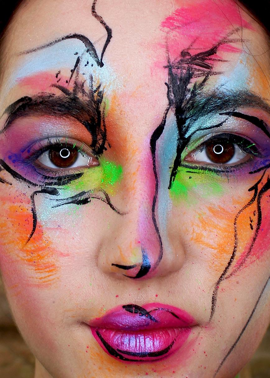 maquillaje-creativo-watercolor