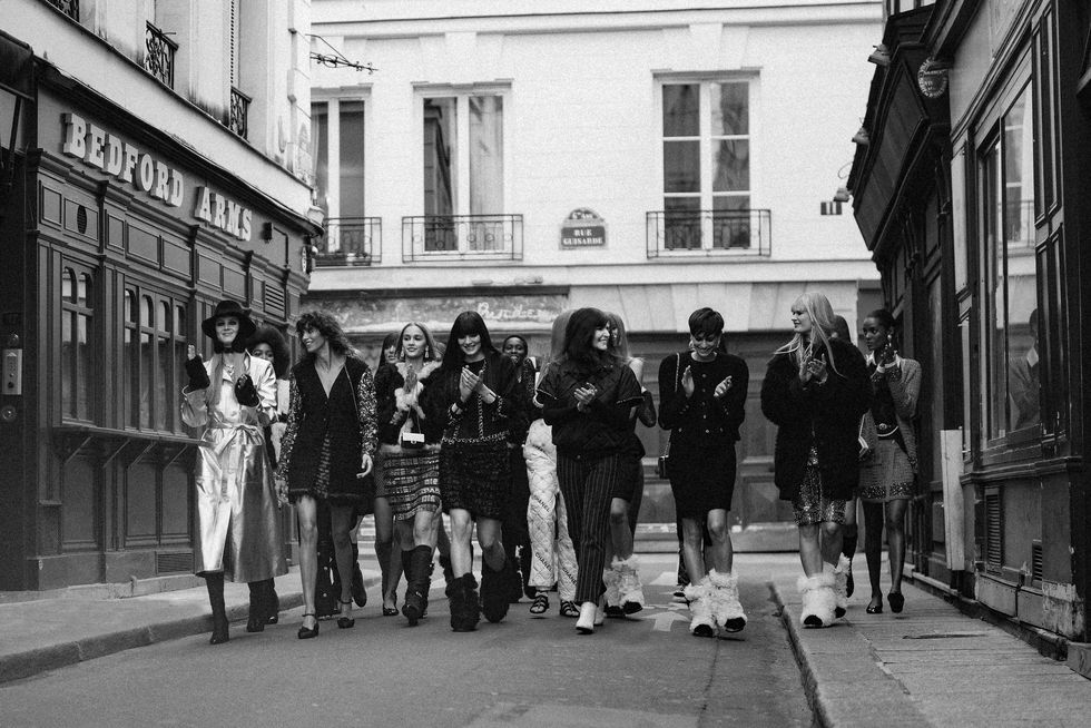 La ultima pasarela de Paris
